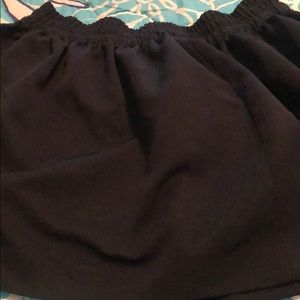 Dresses & Skirts - Cute black flare skirt